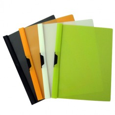 Side Clip File Green