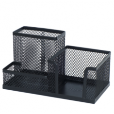 Mesh Pen Holder Black - 84080