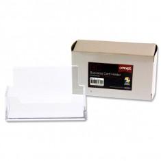Desk Business Card - CLEAR - PREMIER